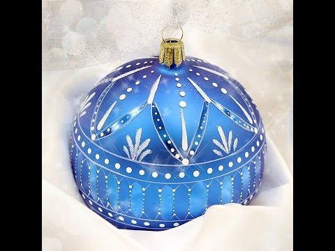 Winter Lace Ornament Tole and Decorative Painting by Patricia Rawlinson