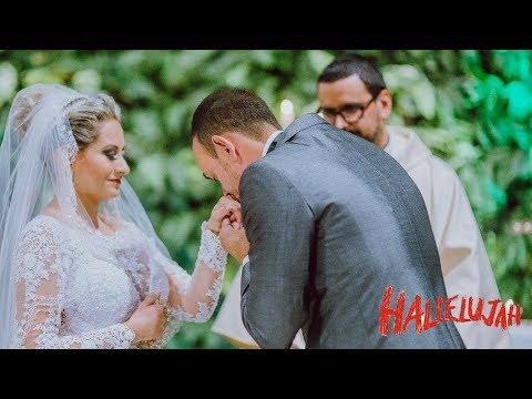 Benção das Alianças  Aleluia Cantada Hallelujah Shrek Coral Orquestra Solista de Casamento