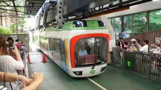 上野動物園モノレール - 東園 到着