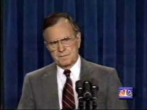 Operation Desert Storm: Bush Announces Ground War