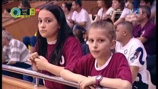 Rapid București - HCM Râmnicu Vâlcea. A doua repriză