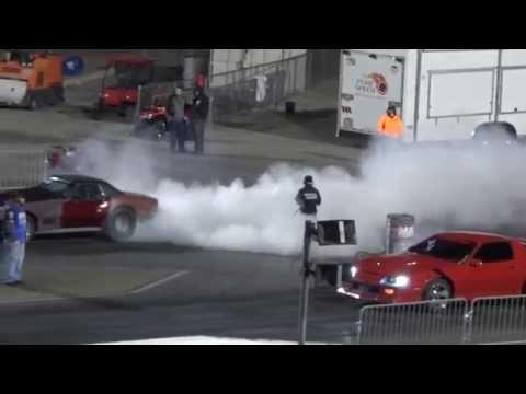 C3 Corvette does a wheelie