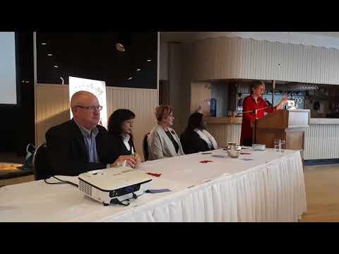 Chris Hornberger Introduces World Cafe Panel