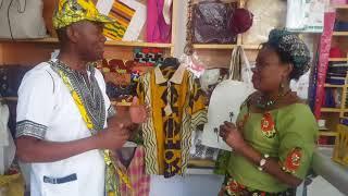 Une Formation=une Entreprise de Fabrication de Vêtements Made In CONGO