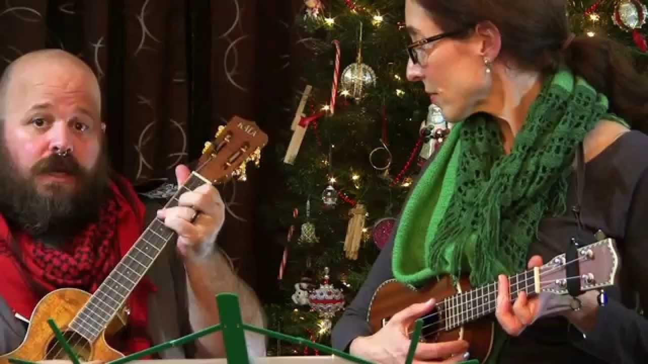 MUJ: The Christmas Song - The Raveonettes (ukulele tutorial) - YouTube