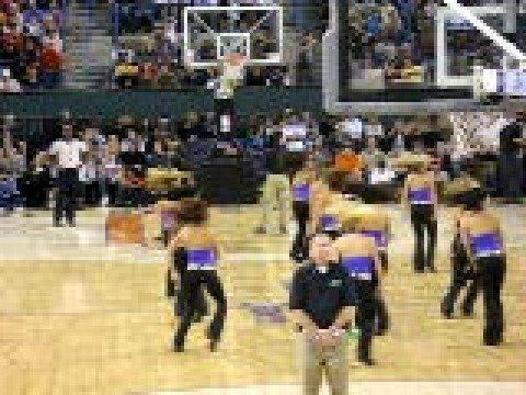Phoenix Suns Dancers at NBA Outdoor Game 10/11/08