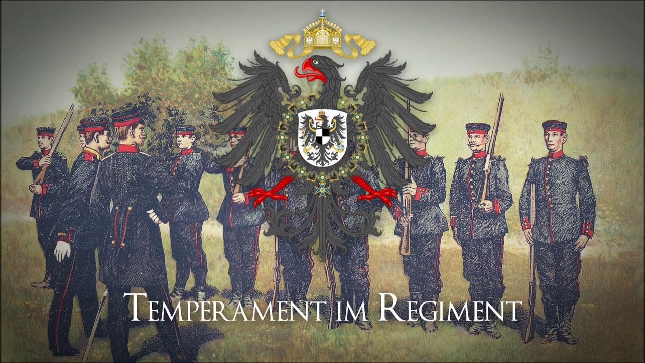 """Marcha Alemana - ✠ """"Temperament im Regiment"""" ✠"""