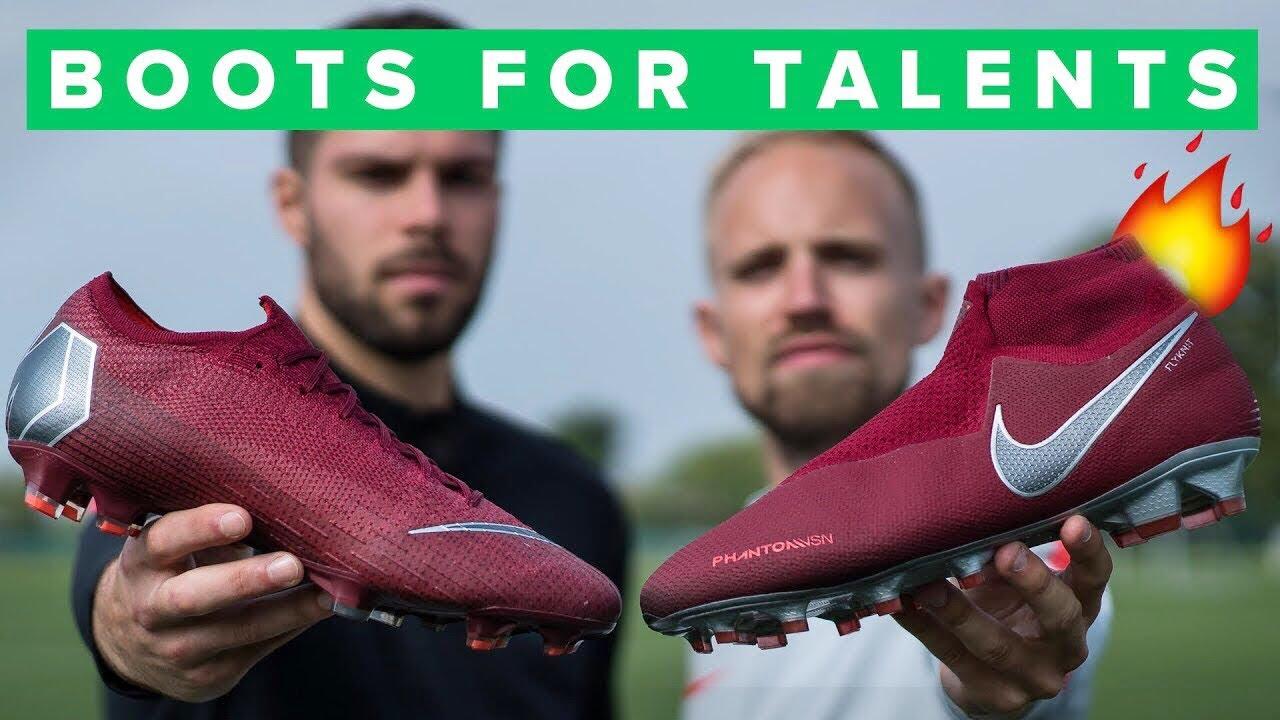 nike burgundy football boots