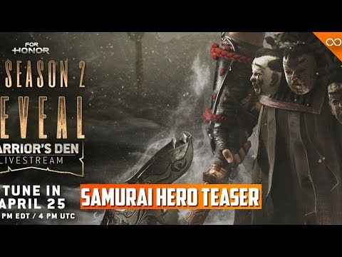 New Samurai Hero Teaser! New For Honor Voice Lines Cancelled - Even More Matchmaking Updates