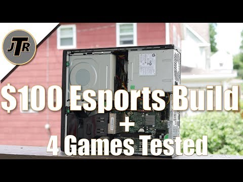 The $100 Budget Gaming PC/ E-Sports Pc- i3 3220/ GT 1030