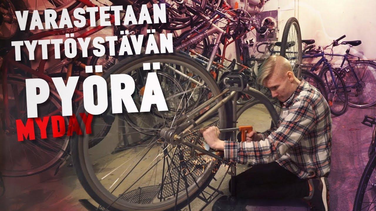 Pyörä Varastettu