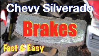 Chevy Silverado Front Brakes (Fast & Easy)