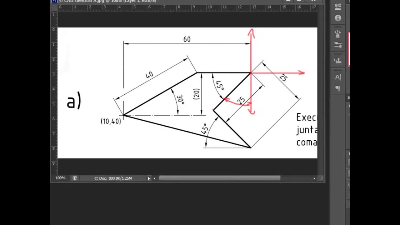 Desenhar Planta Online Autocad Exerc 237 Cio A Curso B 225 Sico Linhas Em 226 Ngulos