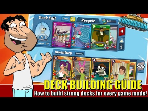 How To Build A Good Deck In Animation Throwdown!