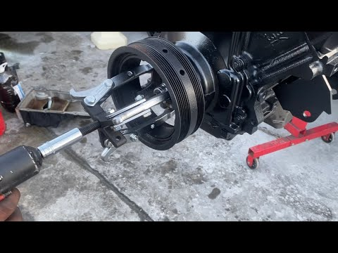 HOW TO: REMOVE AND INSTALL A LS HARMONIC BALANCER USING A GM Ls7 CRANK BOLT