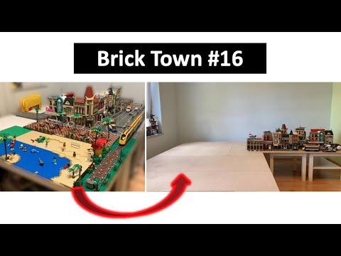 Abbau der Stadt + Neuer Tisch - Brick Town 16 / LEGO Stadtupdate 16