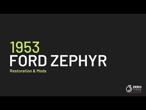 1953 Ford Zephyr Restoration And Mods