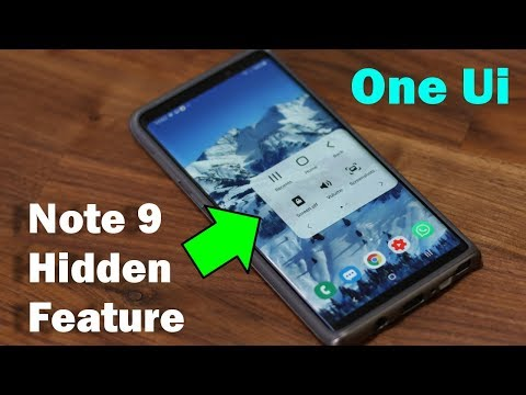 Galaxy Note 9 - Hidden Feature Revealed (Samsung One Ui with Android 9.0 Pie)