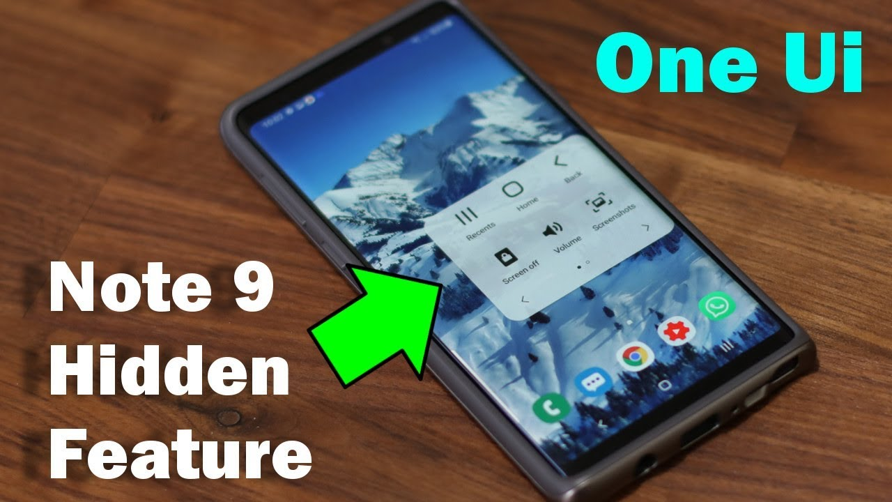 Galaxy Note 9 - Hidden Feature Revealed (Samsung One Ui with Android 9 0  Pie)