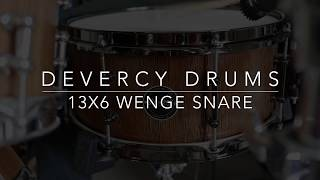 d'Evercy Drums Wenge 13x6 Stave Snare