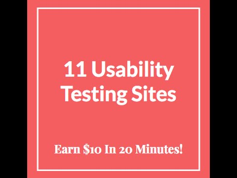 11-website-usability-testing-jobs:-$10-in-20-minutes