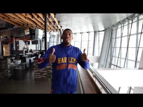 Trick Shots at the Golden 1 Center | Harlem Globetrotters