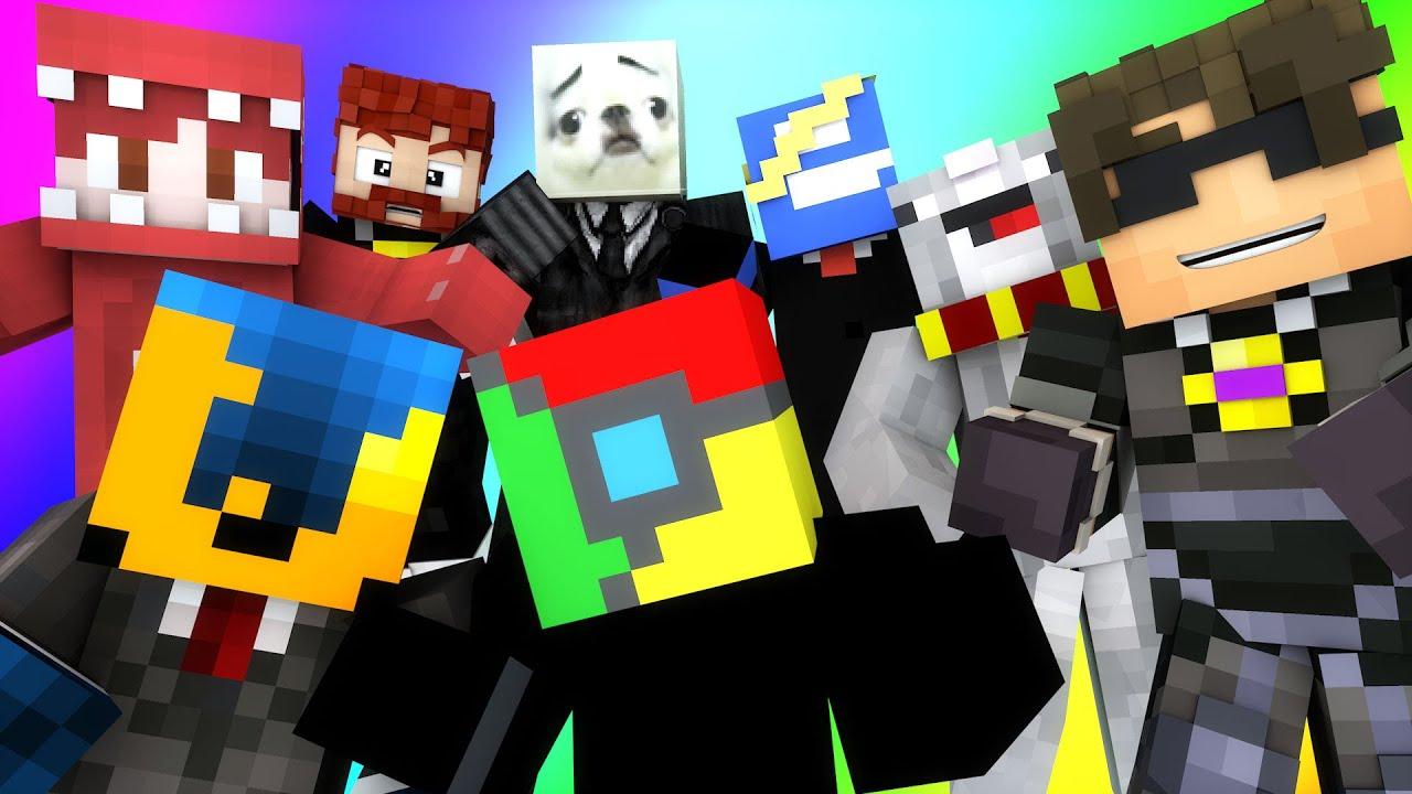 Minecraft Mini-Game : DO NOT LAUGH! (THE INTERNET BRIGADE, DOG MEMES) w/ Facecam