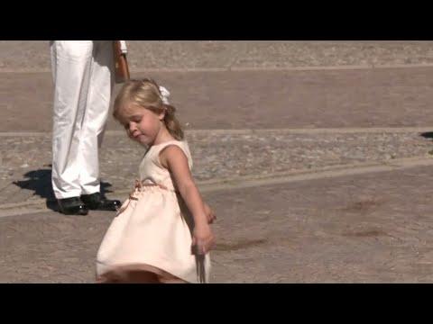 Prinsessan Leonore börjar på svensk förskola - Nyheterna (TV4)