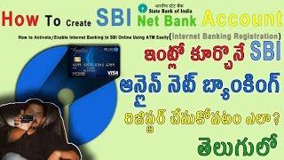 vuclip How To Create SBI Net Banking Account [Telugu] తెలుగులో Tech-Logic