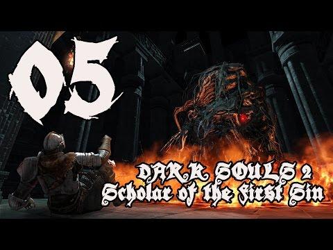 Dark Souls 2 Scholar of the First Sin - Walkthrough Part 5: Heide's Tower of Flame