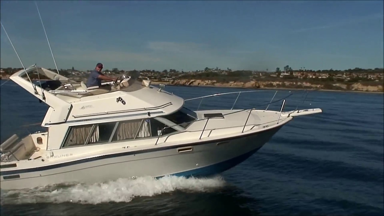 maxresdefault bayliner 2850 contessa,twin engines, 1987 under way video by south  at edmiracle.co