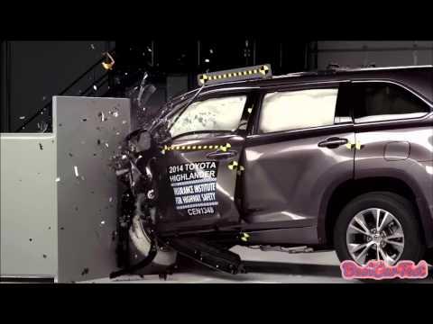 Краш тест Toyota Highlander Краш Тест Тойота Видео