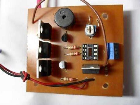 Prueba de placa para cargador automatico de baterias youtube - Cargador de baterias ...