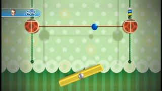 Wii Play: Motion - Teeter Targets Endless Mode (Bounce Stage)