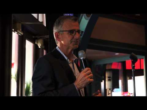Transformers The Ride - 3D Orlando Grand Opening - Mark Woodbury at dinner reception Part 1\/3
