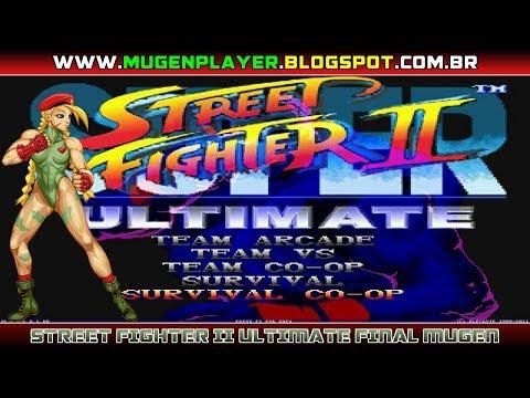 SUPER STREET FIGHTER II ULTIMATE FINAL MUGEN 2019