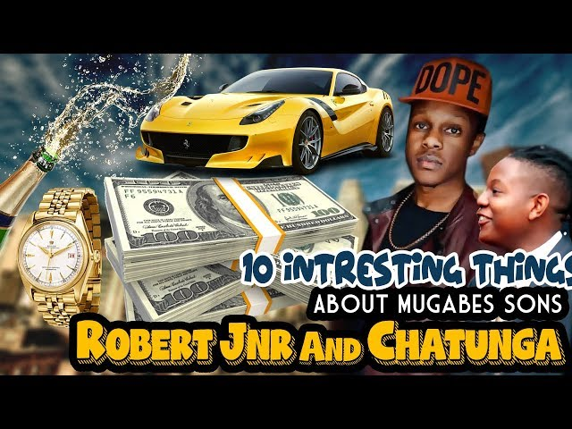 10 INTRESTING THINGS About Mugabe's Sons ROBERT JUNIOR And CHATUNGA
