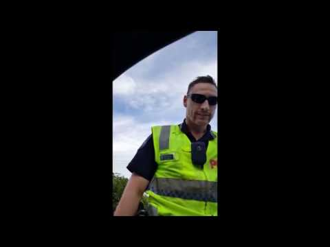 QPS Attempted RBT - Drivers Footage - Cooroy, Queensland, Australia