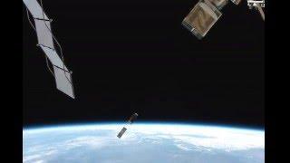 MinXSS und CADRE Start von der ISS