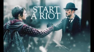Vignette & Philo    Start a Riot • Carnival Row