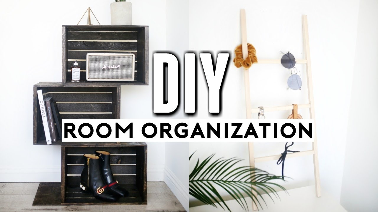 diy room decor organization for 2017 easy affordable minimal ideas youtube
