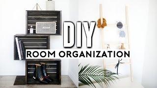 DIY Room Decor & Organization for 2017! Easy, Affordable & Minimal Ideas!  ✂