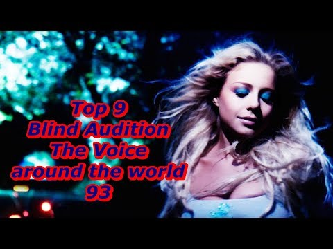 Top 9 Blind Audition (The Voice around the world 93)