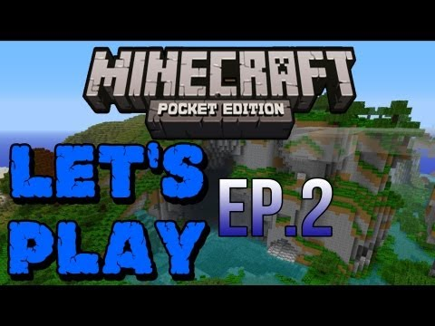 Let's Play Minecraft Pocket Edition Multiplayer - Ep.2