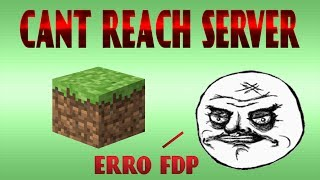 Arrumando erro do minecraft - cant reach server (quando o amigo não consegue entrar em seu server)