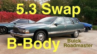 LS1 B-Body Swap Overview & AC Install - 5.3 Buick Roadmaster 93 - Part 3 Final Video
