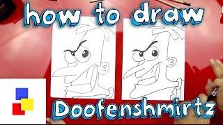 How To Draw Doofenshmirtz
