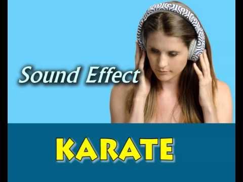 sound effect karate