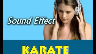 sound effect karate