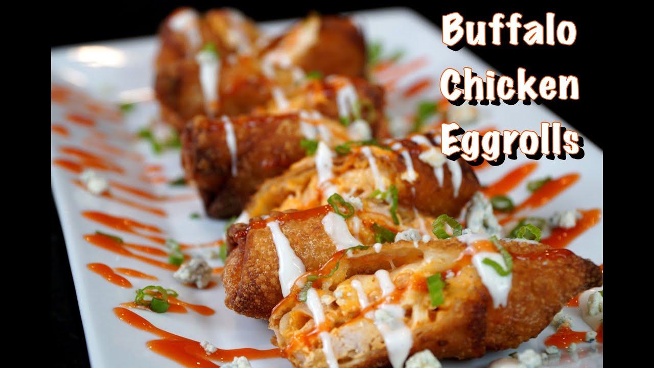 How To Make Buffalo Chicken Eggrolls | #MrMakeItHappen #BuffaloChickenDip